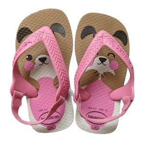 Havaianas Baby Bear Flip Flops 6C